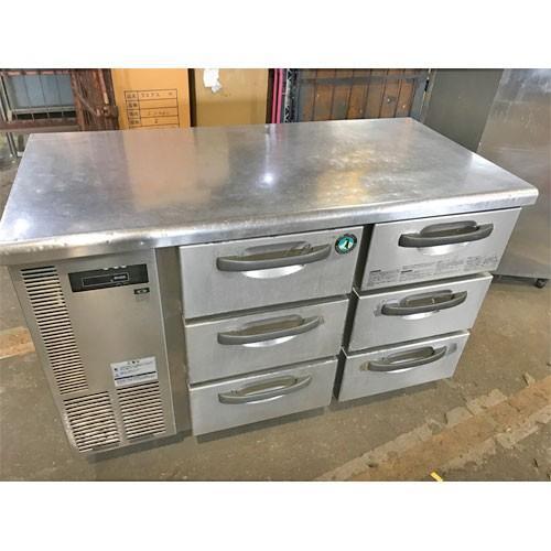 冷蔵ドロワーコールドテーブル ホシザキ RT-120DNC1 業務用 中古/送料無料
