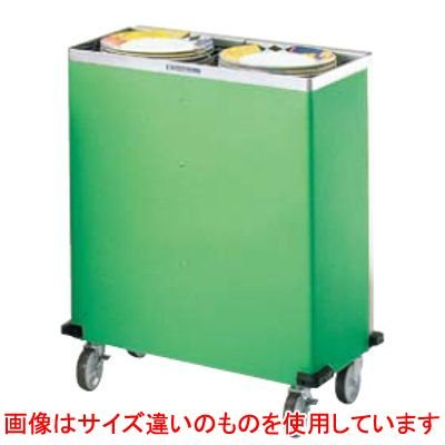 CLWシリーズ 食器ディスペンサー カート型 CL26W2H 保温式 【業務用】【送料別】