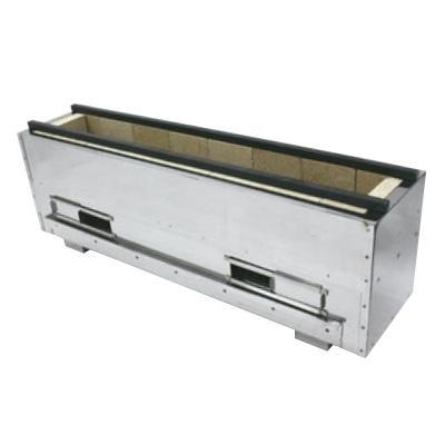 コンロ 耐火レンガ木炭コンロ(組立式)NST-6038 /送料別 幅600×奥行385×高さ300