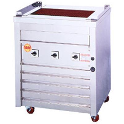 業務用 ヒゴグリラー 万能型タイプ(床置型)三相200V 幅720×奥行550×高さ850 (3P-210)