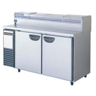 冷蔵庫 コールドテーブル 業務用 福島工業 冷蔵庫 TRC-60RM2-NC (ネタケース付) / 送料無料 幅1500×奥行600×高さ1020