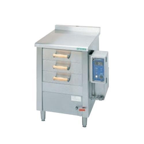 (業務用)(新品) タニコー 電気式引出型蒸器 EM-3S 幅785×奥行750×高さ900 単相200V (送料無料)