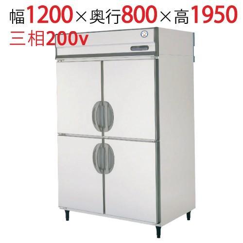 業務用縦型冷蔵庫 URD-120RMD6 幅1200×奥行800×高さ1950/福島工業/送料無料