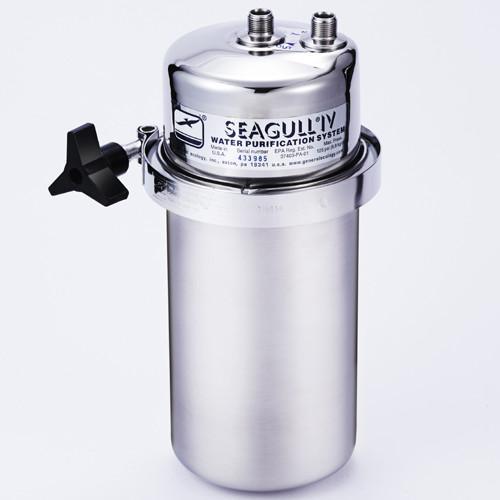 浄水器 シーガルフォー (業務用直結タイプ) X-2B(SS) 【業務用/新品】【送料無料】 直径127×高さ253