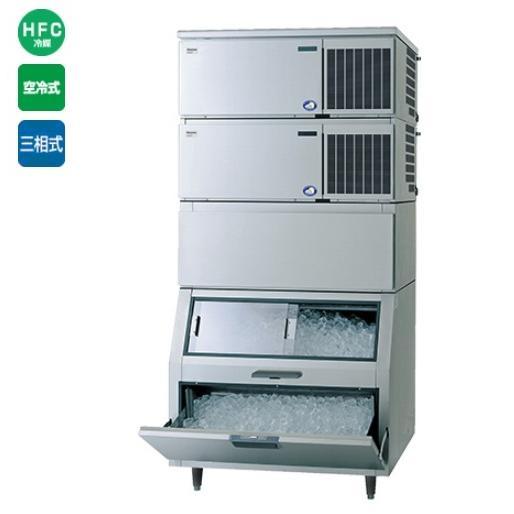 製氷機 キューブアイス SIM-S481N-HFB2(旧型式:SIM-S480N-HFB2) 480kgタイプ レギュラー氷サイズ パナソニック(旧サンヨー) 幅1087×奥行862×高さ2274