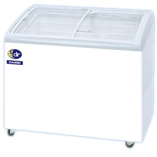 冷凍ショーケース 冷凍庫 業務用 無風 ダイレイ 190L -25度 RIO-100SS 幅1000×奥行650×高さ880(766)