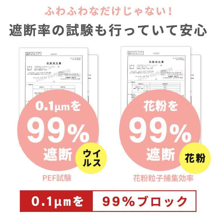 ユニフリー 快適エアリーマスク ふわふわ うさちゃんマスク 35枚 個包装タイプ|tenpoyouhinshop|05