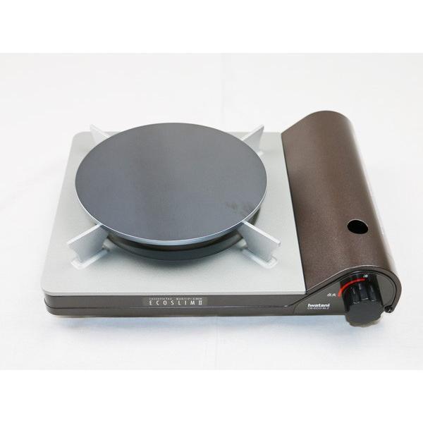プロ仕様 クレープ 鉄板 今日から我が家もクレープ屋さん! クレープメーカー クレープ焼き器 サイズ200 板厚6.0mm ミニトンボ・スパチュラ付き|teppan-hiroba|04
