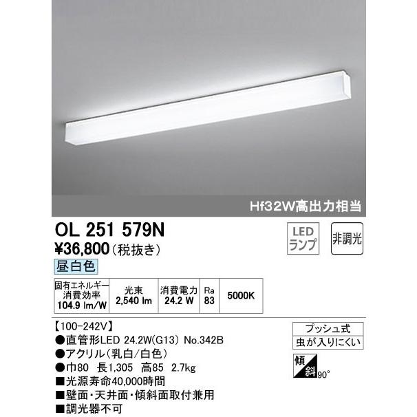 OL251579N シーリングライト [LED昼白色] あすつく オーデリック