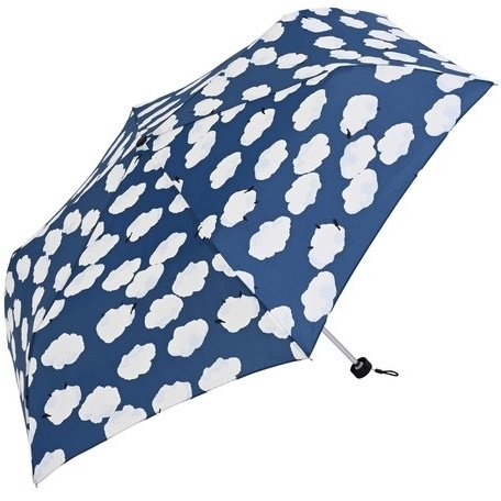 【最安値(送料込価格)に挑戦】 【晴雨兼用傘】  nifty colors(ニフティカラーズ) 折りたたみ傘 軽量  ひつじ曇 55センチ UVカット teruruya 12