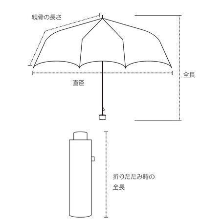 【最安値に挑戦】 【晴雨兼用傘】  because(ビコーズ) 折りたたみ傘 軽量 チェック刺繍 UVカット率95%以上 teruruya 03
