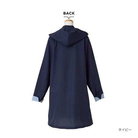 【最安値に挑戦】 【レインコート】 because(ビコーズ)ステンカラー コート レインウェア|teruruya|02