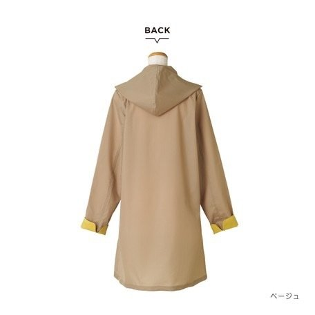 【最安値に挑戦】 【レインコート】 because(ビコーズ)ステンカラー コート レインウェア|teruruya|04