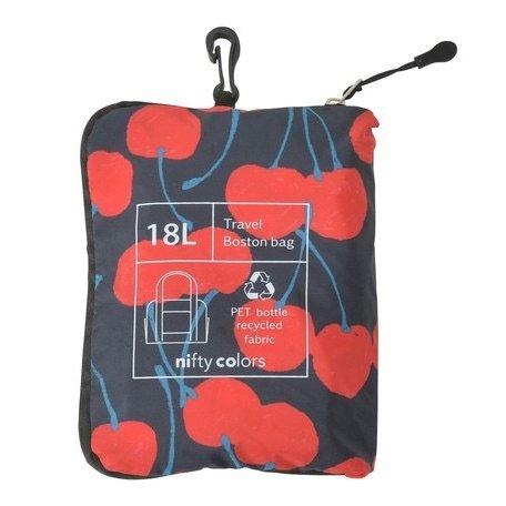 【最安値に挑戦】 【ボストンバッグ】  nifty colors(ニフティカラーズ) チェリー レインボストンバッグ teruruya 03