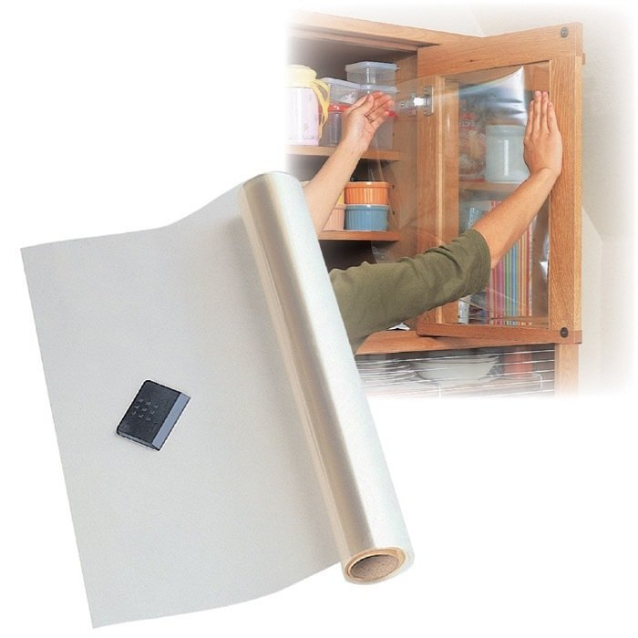 【ガラス飛散防止フィルム】 46センチ×180センチ 防災グッズ 強風対策 台風対策 地震対策 子供部屋に|teruruya|02