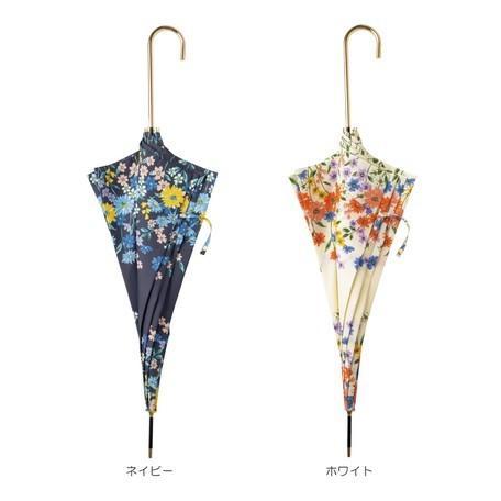 傘 レディース 長傘 おしゃれ 晴雨兼用 ブランド かわいい 軽量 UVカット フラワーブルーム because ビコーズ|teruruya|02