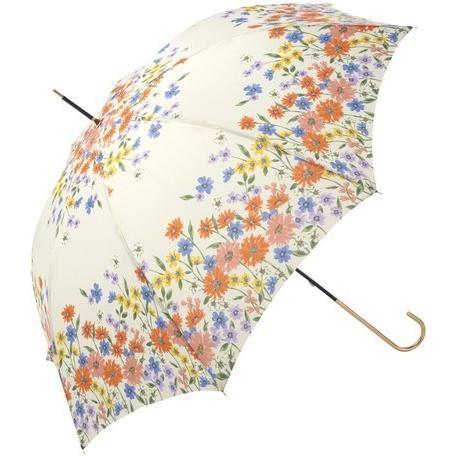 傘 レディース 長傘 おしゃれ 晴雨兼用 ブランド かわいい 軽量 UVカット フラワーブルーム because ビコーズ|teruruya|06