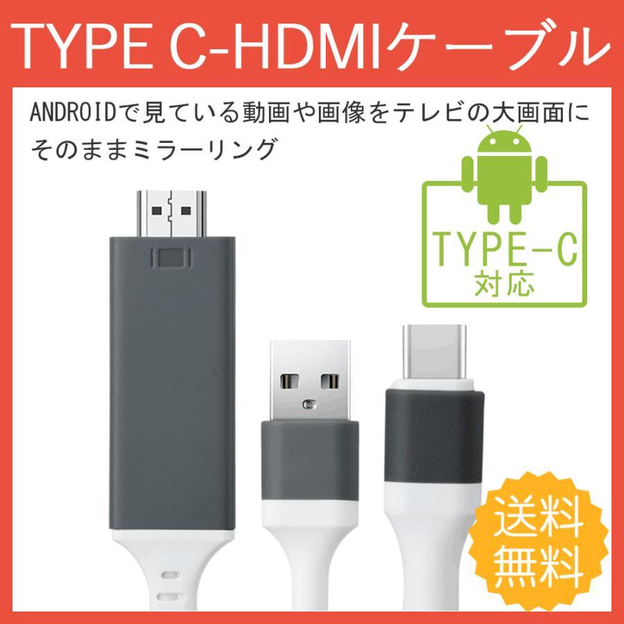 HDMI 変換ケーブル TYPE-C テレビ 接続 新発売 宅配便送料無料 出力 to ケーブル パソコン 接続簡単 ミラーリング