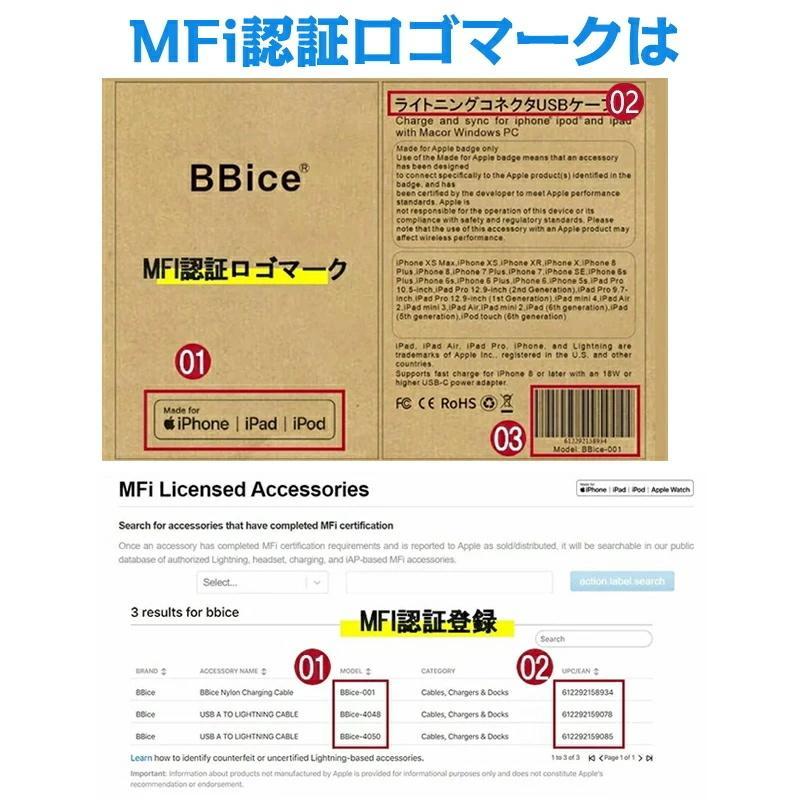 Apple純正ケーブル iPhone 充電ケーブル Apple Lightningケーブル Foxconn製 3m 2m 1.5m 1m 0.5m PD超速充電ライトニングケーブル 対応動画あり|teruyukimall|05