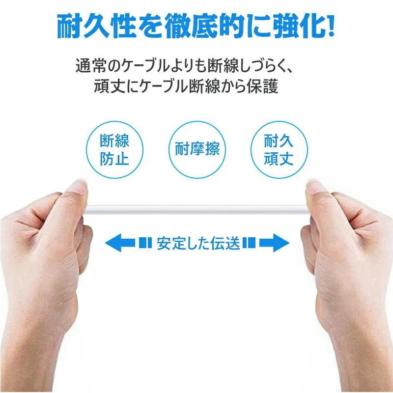 Apple純正ケーブル iPhone 充電ケーブル Apple Lightningケーブル Foxconn製 3m 2m 1.5m 1m 0.5m PD超速充電ライトニングケーブル 対応動画あり|teruyukimall|07