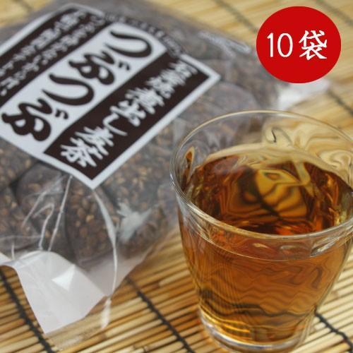 つぶまるの増量版 つぶつぶ 麦茶 小川産業 1ケース(24パック入り×10袋) 石釜焼き 煮出し麦茶|teshigotohompo