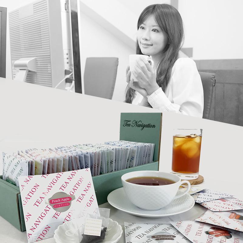 紅茶 母の日 ティーバッグ 業務用 高品質 ギフト Office TEA NAVIGATION 40包入 オフィス おしゃれ 美味しい 贈答品 Mother's Day|tetrafleur|09