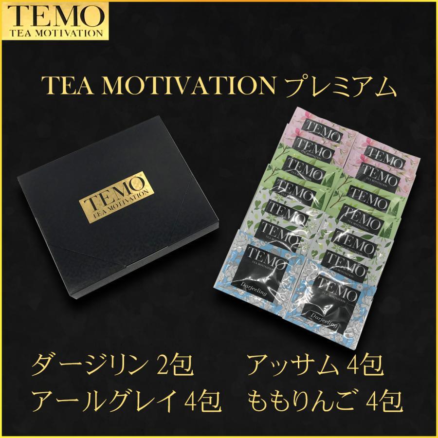 紅茶 ハロウィン ティーバッグ 最高級 高品質 ギフト TEA MOTIVATION プレミアム 14包 メール便 クリックポスト ダージリン アッサム アールグレイ ももりんご|tetrafleur