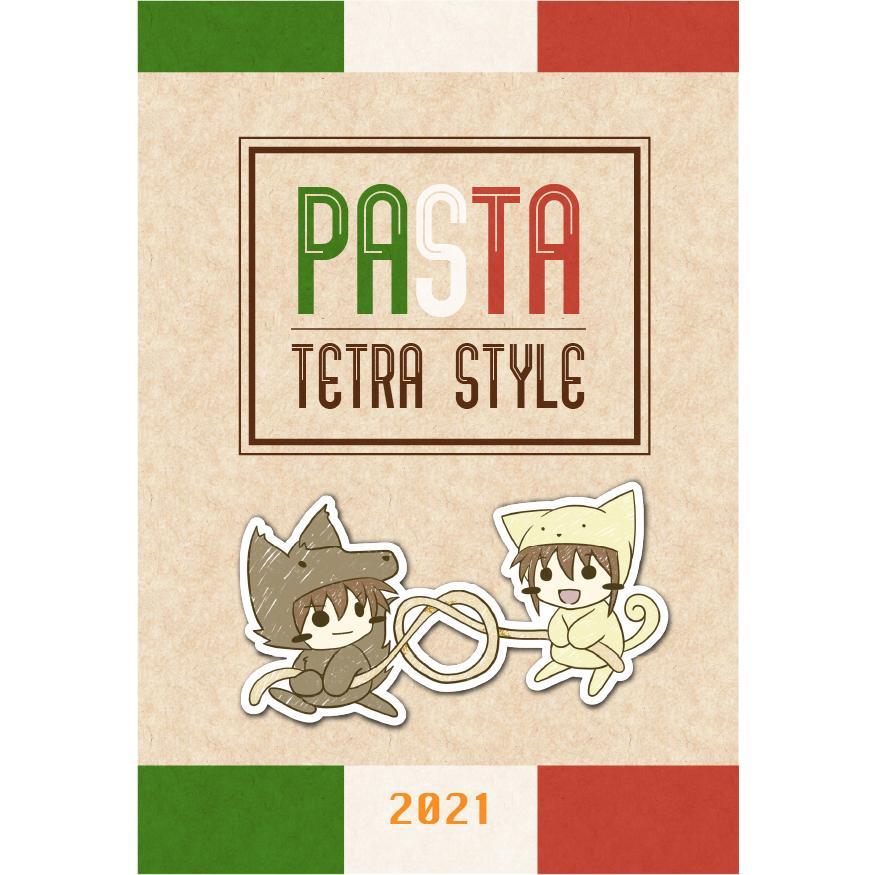 Tetra Style 2021年卓上カレンダー(パスタカレンダー)|tetrastyleshop