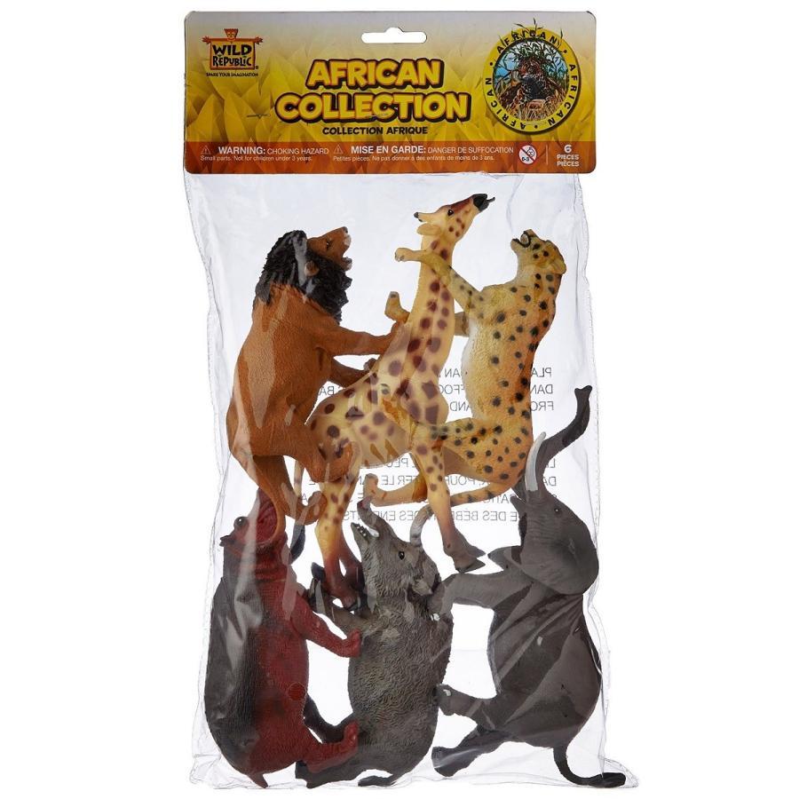 アフリカン 動物 フィギュア セット ポリバッグコレクション 64003|tf-shizukuya|02