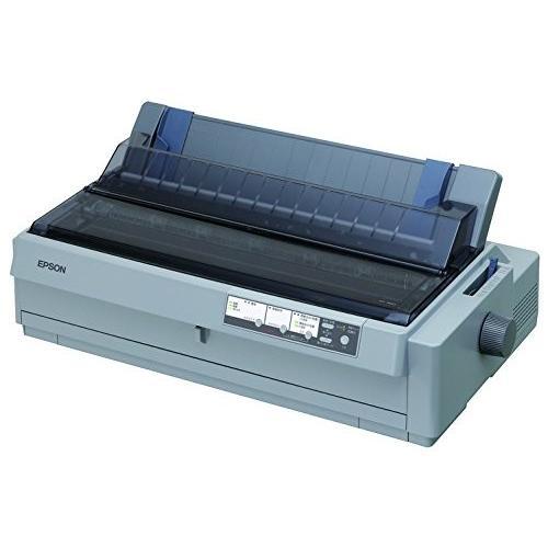 EPSON インパクトプリンター 24ピン 136桁 6枚複写(オリジナル+5枚) 英数360字/秒 NIC OP対応 連続紙トラクタ2基