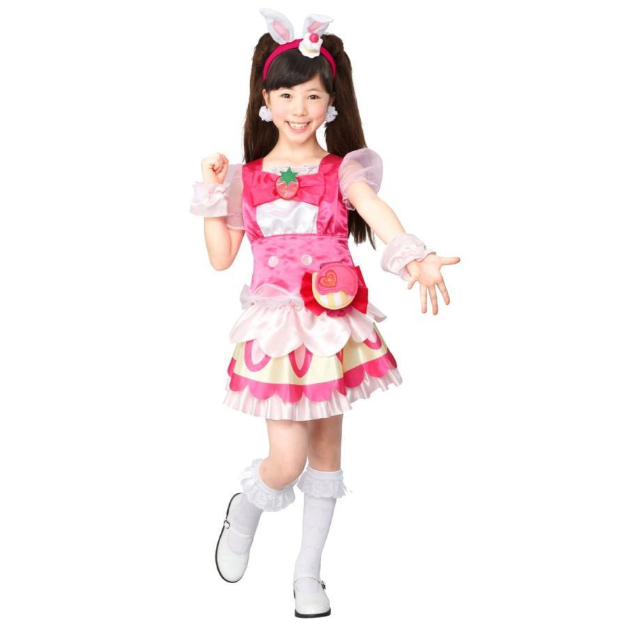 キラキラプリキュアアラモード キュアホイップ 変身プリチューム キッズコスチューム 女の子 95cm-115cm|thanks-tuhan