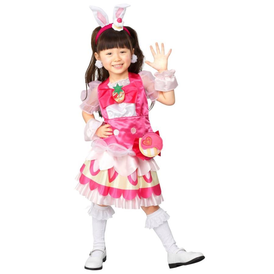 キラキラプリキュアアラモード キュアホイップ 変身プリチューム キッズコスチューム 女の子 95cm-115cm|thanks-tuhan|04