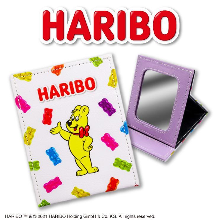 売り込み ハリボー コラボ 折り畳みミニミラー サンキューマート 新品■送料無料■