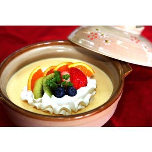土鍋プリン かじはらプリン stk-274-73448 正規品送料無料 プリン ぷりん 菓子 土鍋 高品質 洋菓子 お菓子