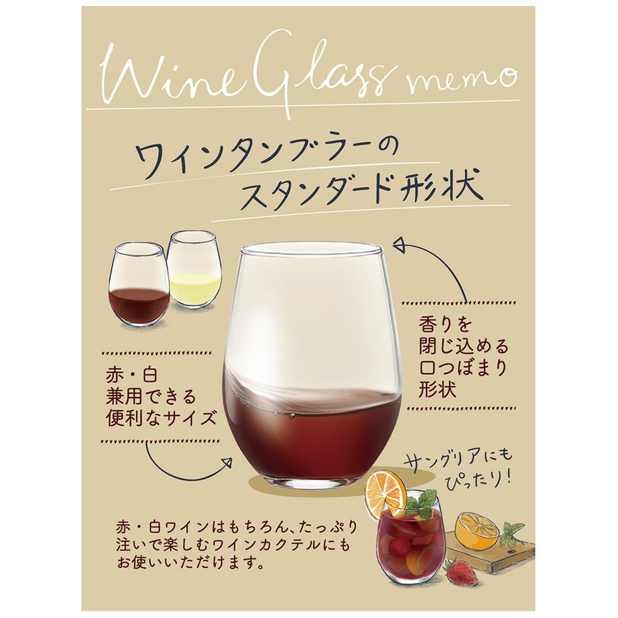 ワイングラス 食洗機対応 日本製 2個セット クリア 325ml G101-T270 東洋佐々木ガラス the-fuji-food 06
