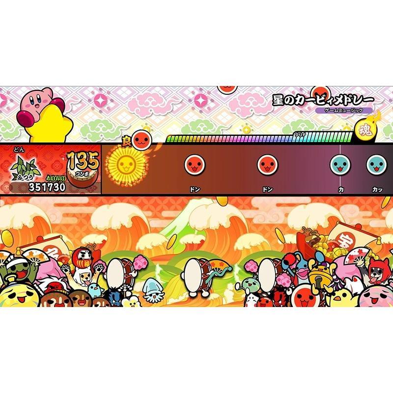 任天堂  太鼓の達人 Nintendo Switchば〜じょん! パッケージ版 Nintendo Switch (スイッチソフト) (新品)|4573173331845||the-fuji|04