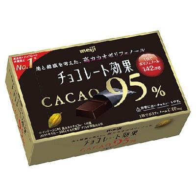 明治 チョコレート効果カカオ95%BOX 60g まとめ買い(×5) the-fuji