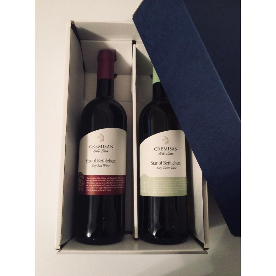 イスラエル・パレスチナ自治区産「ベツレヘムの星」赤・白ワインセット(オーガニック) 通常価格より約20%オフ! the-sacred-wine 02