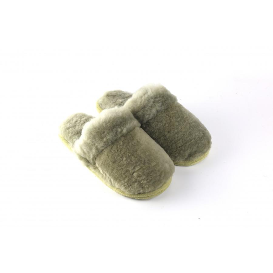 スリッパ ムートン オーストラリア産天然羊毛 ムートンスリッパ  洗える 静音加工 滑り止め 男女兼用 フリーサイズ  sn-2|the-slipper|07