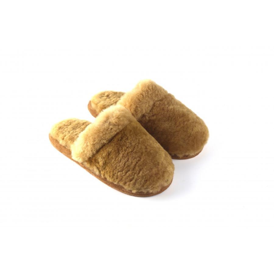 スリッパ ムートン オーストラリア産天然羊毛 ムートンスリッパ  洗える 静音加工 滑り止め 男女兼用 フリーサイズ  sn-2|the-slipper|10