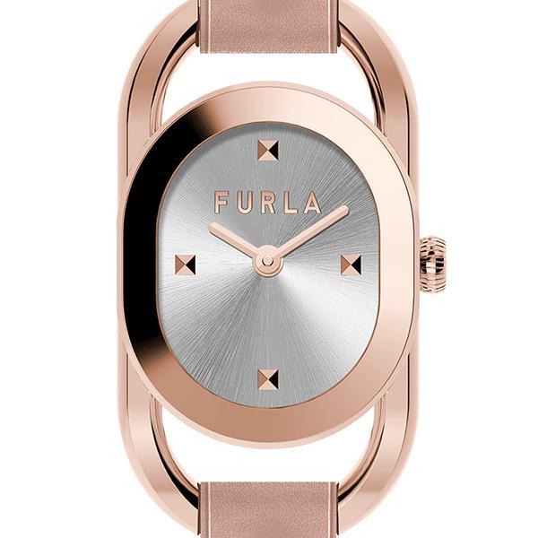FURLA フルラ STUDS INDEX フルラスタッズインデックス FL-WW00008003L3 レディース 腕時計 クオーツ 電池式 革ベルト ライトピンク シルバー|theclockhouse-y|03