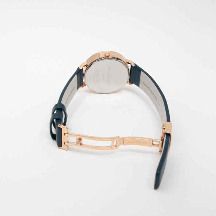 ザ・クロックハウス カジュアルスタイル LCA1003-NV1B レディース 腕時計 ソーラー 革ベルト ネイビー シンプル ミニマル 雑誌掲載 着用モデル theclockhouse-y 07