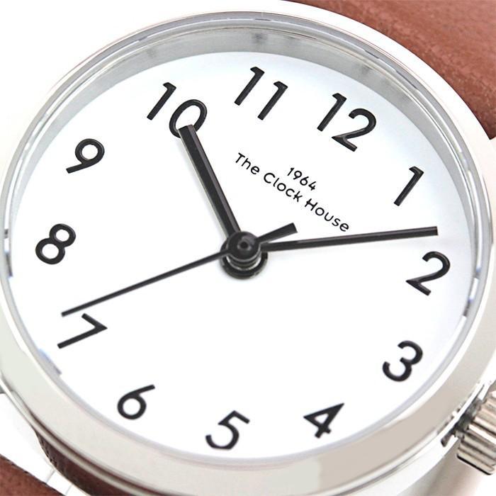 ザ・クロックハウス ナチュラルカジュアル LNC1001-WH2B レディース 腕時計 ソーラー 革ベルト ブラウン ホワイト|theclockhouse-y|04