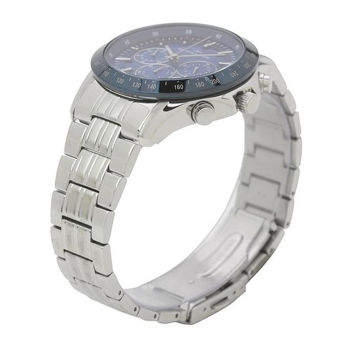 ザ・クロックハウス MBC1003-BL1A ビジネスカジュアル メンズ 腕時計 ソーラー ステンレス ブルー メタル クロノグラフ 雑誌掲載 theclockhouse-y 03