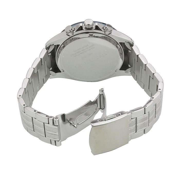 ザ・クロックハウス MBC1003-BL1A ビジネスカジュアル メンズ 腕時計 ソーラー ステンレス ブルー メタル クロノグラフ 雑誌掲載|theclockhouse-y|07