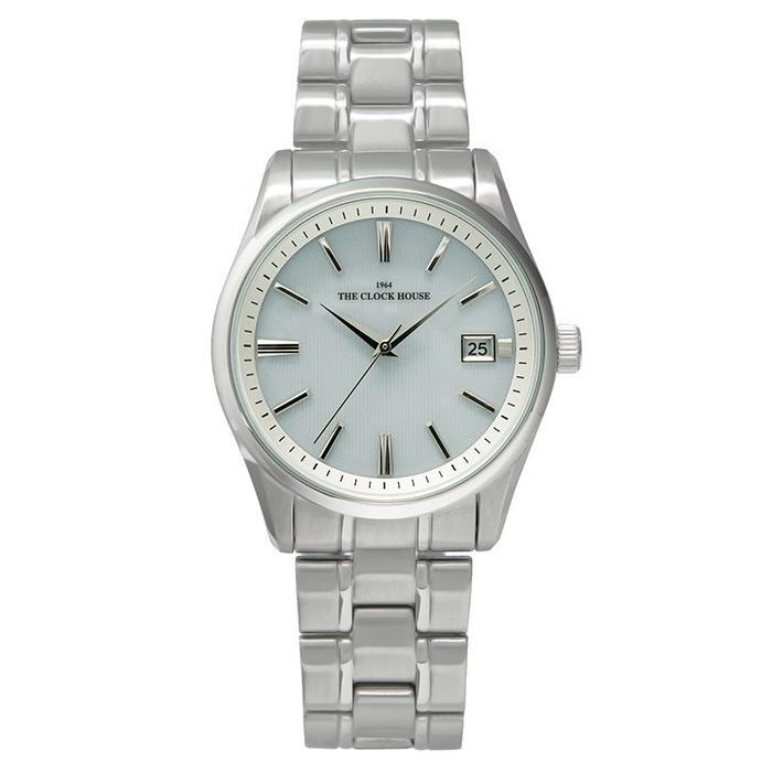 ザ・クロックハウス MBF1006-WH1A ビジネスフォーマル メンズ 腕時計 ソーラー ステンレス ホワイト 雑誌掲載 THE CLOCK HOUSE theclockhouse-y 02