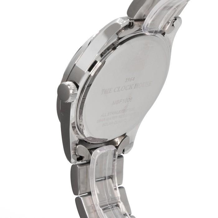 ザ・クロックハウス MBF1006-WH1A ビジネスフォーマル メンズ 腕時計 ソーラー ステンレス ホワイト 雑誌掲載 THE CLOCK HOUSE theclockhouse-y 04