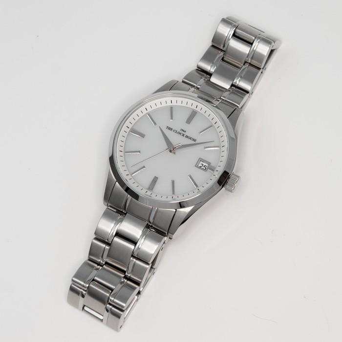 ザ・クロックハウス MBF1006-WH1A ビジネスフォーマル メンズ 腕時計 ソーラー ステンレス ホワイト 雑誌掲載 THE CLOCK HOUSE theclockhouse-y 09