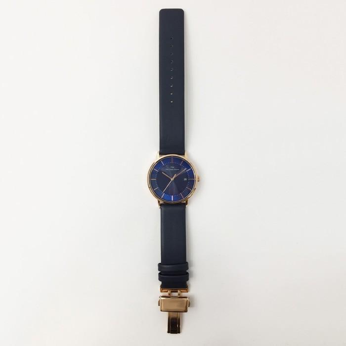 ザ・クロックハウス MCA1003-NV1B メンズカジュアル メンズ 腕時計 ソーラー 紺革ベルト ネイビー カレンダー THE CLOCK HOUSE ペア theclockhouse-y 08