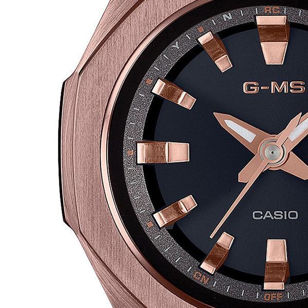 BABY-G ベビーG G-MS ジーミズ MSG-W350CG-5AJF レディース 腕時計 電波ソーラー オクタゴンベゼル 八角形 ダークブラウン 国内正規品 カシオ|theclockhouse-y|04